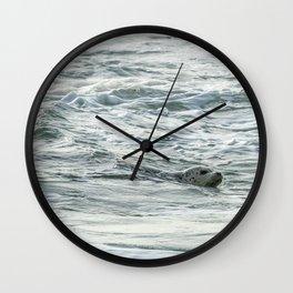 Harbor Seal, No. 2 Wall Clock