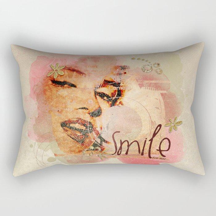 Smile For Me extras Rectangular Pillow