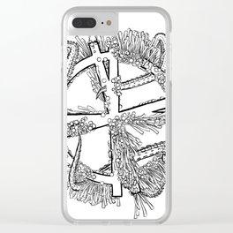 See You Space Puppy ... Clear iPhone Case