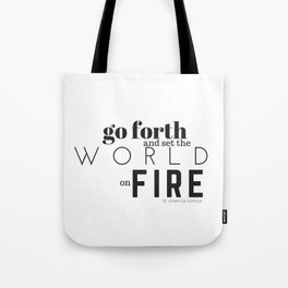 For my Jesuit friends, pt. 2. Tote Bag