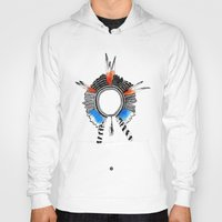 headdress Hoodies featuring Indian Headdress by lifeonmars*