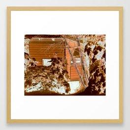 A Cabins Dream Framed Art Print