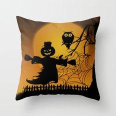 Spooky Halloween 5 Throw Pillow