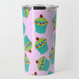 Cupcakes - 'The Marvelous Colors of a Lollipop' Travel Mug