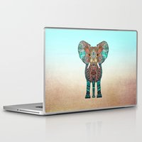 ombre Laptop & iPad Skins featuring ElePHANT by Monika Strigel