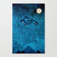 Space Play Canvas Print