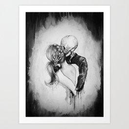 Dead to Me Art Print