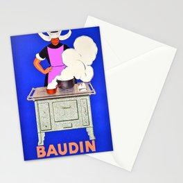 Vintage poster - Baudin Stationery Cards