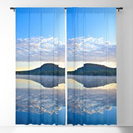 Know and Remember:  Reflections on Lake George Blackout Curtain