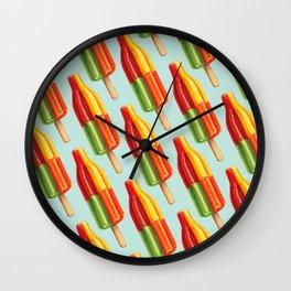 Popsicle Pattern- Bingo Bomb Wall Clock