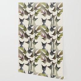 Kessells Whimsical Cats Wallpaper