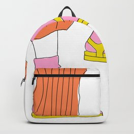 Socks and Sandals Backpack
