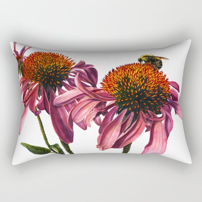 Coneflower Rectangular Pillow