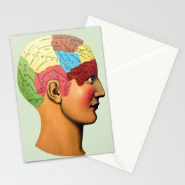 Phrenology | It used to be science Stationery Cards