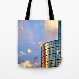 Minimalist Skyline Tote Bag