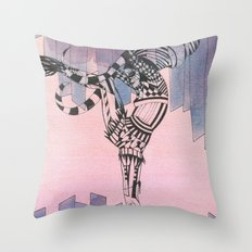 Taurus - Zodiac Signs Series Throw Pillow