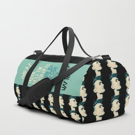 """Heavenly way to Die"" Duffle Bag"