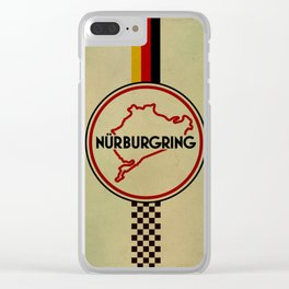 Nürburgring, the Green Hell Clear iPhone Case