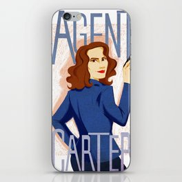 Agent Carter iPhone Skin