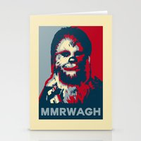 chewbacca Stationery Cards featuring Chewbacca  by Ilustrachii