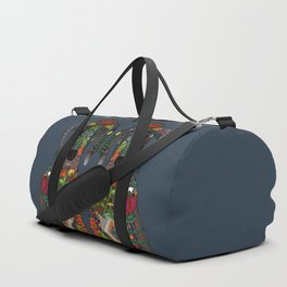 Great Dane love midnight Duffle Bag