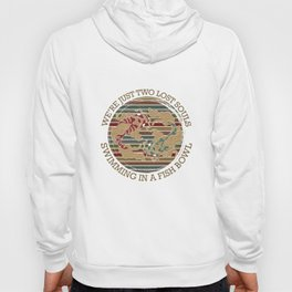 Two Pink Lost Souls Swimming Fish Bowl Hoody