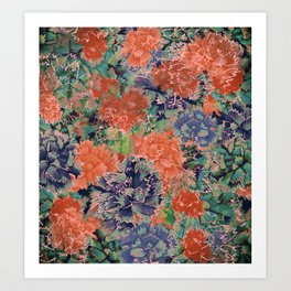 claveles 3 Art Print