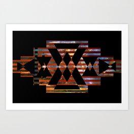 Sunset/Nebula Art Print