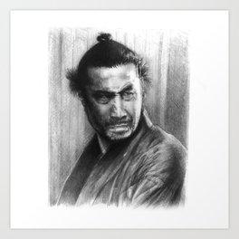 Toshiro Mifune Art Print