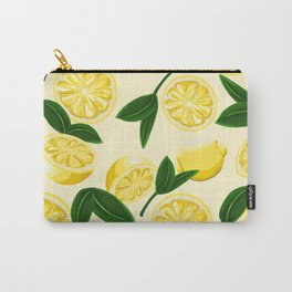 yellow lemons Carry-All Pouch