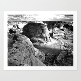 Vintage Landscape : Canyon de Chelly National Monument, Arizona Art Print