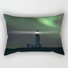 When the northern light appears Rectangular Pillow
