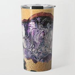 TIDAL WAVE | Abstract acrylic art by Natalie Burnett Art Travel Mug
