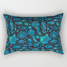 Underwater Life Rectangular Pillow