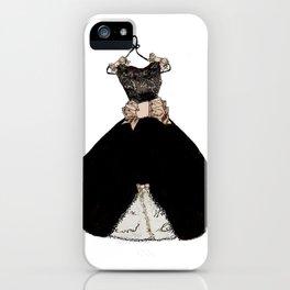 That Little Black Dress iPhone Case