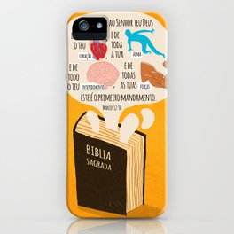 Marcos 12:30 iPhone Case