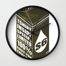 S6 SPECIAL LIMITED PKG Wall Clock