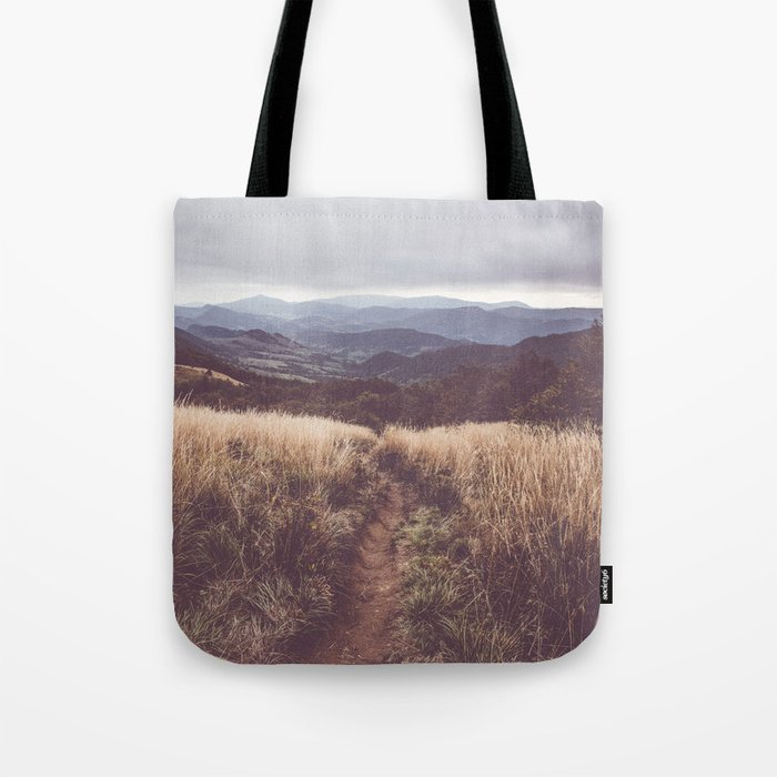 Bieszczady Mountains - Landscape and Nature Photography Tote Bag