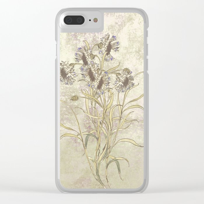 The flowers are singing Clear iPhone Case