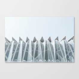 City of Arts and Sciences | Architecture by CALATRAVA | Valencia Canvas Print