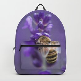 Lavender Bee Backpack