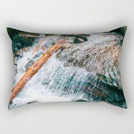 Creek bed in Squamish, Canada Rectangular Pillow