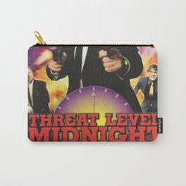 Geng Threat Level Midnight Poster Carry-All Pouch