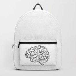 Human Brain Illustration Backpack