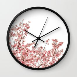 Cherry Blossoms (Color) Wall Clock