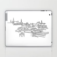 Vyšehrad - View from the castle Laptop & iPad Skin