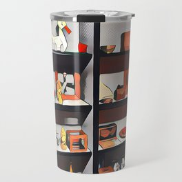 My oh my what is on the shelf?  Travel Mug