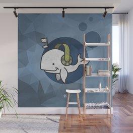 Music Whale Wall Mural