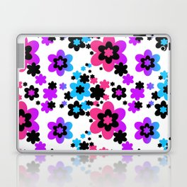 Rainbow Flowers Laptop & iPad Skin