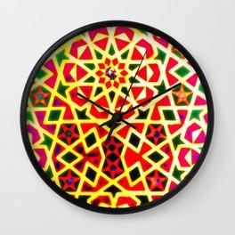 Batik Le Voyage Wall Clock